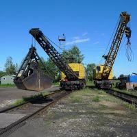 Грузовой двор :: Cargo court yard, Сосногорск