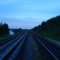Железная дорога, Сосногорск