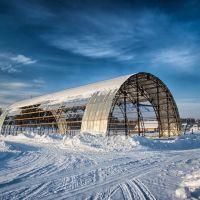 остатки ангара, Сосногорск