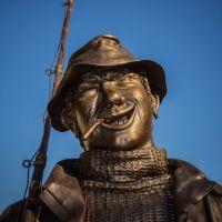 Памятник рыбаку, Сосногорск