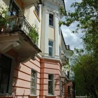 Балконные деревья, Сыктывкар
