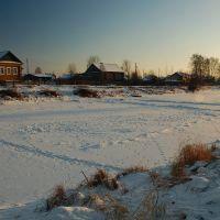 Замёрзшее озеро п. Заречье, Сыктывкар