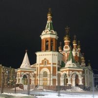 церковь в г.Усинск, Усинск
