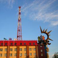 Усинск, Здание Компании Лукойл, Усинск