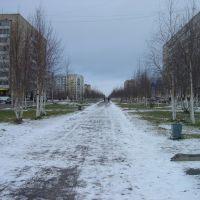 Усинск, Аллея, Усинск