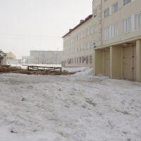Ветром крышу снесло, Усинск