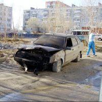 Двор ул. Парковой 5а 2007 г, Усинск