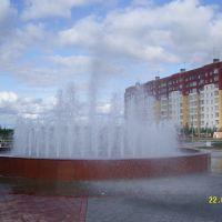 Усинский фантан 2009 год. Подарок городу на 25 летие., Усинск