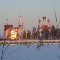 Усинск. Храм. Декабрь, 2008, Усинск