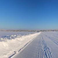 Зимняя панорама Усть-Цильмы, Усть-Цильма