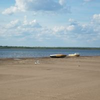 Берег реки Печора, Усть-Цильма