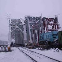 Железнодорожные мосты (последние дни Вологодского моста), Буй