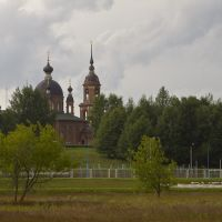 Temple in Volgorechensk, July-2009, Волгореченск