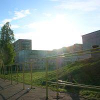 Турники около 3-й школы, Волгореченск
