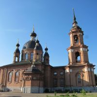 Тихоновская церковь в Волгореченске., Волгореченск