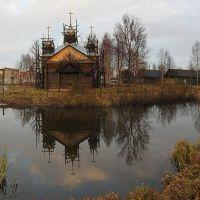 Center of the village / Центр посёлка, Кадый