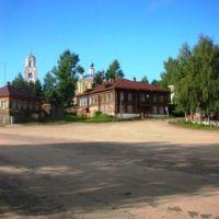 Kologriv_placo post la urba tago, Кологрив