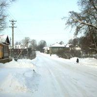 Kologriva centra strato de placo al Kitenga rivero, Кологрив
