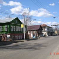 Wooden houses, Кострома