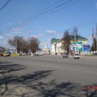 View to Sovietskaia sq., Кострома