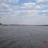Brige across Volga river, Кострома