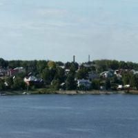 Панорама правого берега Волги, Кострома