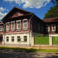Merchant House. Купеческий дом. La maison de marchand, Кострома