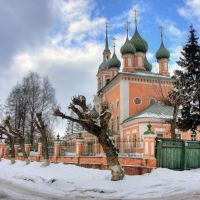 Church of Ioann Zlatoust / Церковь Иоанна Златоуста, Кострома