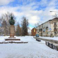 Monument to the marshal of airforce Novikov / Памятник маршалу авиации Новикову, Кострома