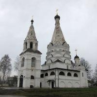 Богоявленская церковь села Красного., Красное-на-Волге