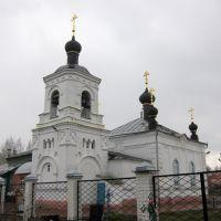 Всехсвятская церковь на кладбище села Красного., Красное-на-Волге