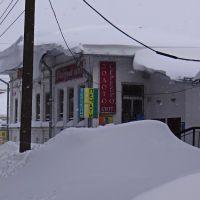 Здание бывшего интерната для школьников. Теперь магазин., Красное-на-Волге