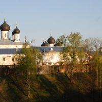 Макарьев. Вид монастыря с северо-запада, Макарьев