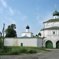 Троицкий Макарьев Унженский монастырь. Николаевская надвратная церковь., Макарьев