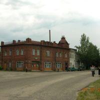 Макарьев. Старинное здание, Макарьев