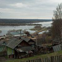 разлив реки Унжа, Макарьев
