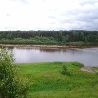Макарьев. Река Унжа. Makariev. Unzha river. 9/06/2012, Макарьев