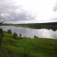 Макарьев, р. Унжа. Makariev. Unzha river. 9/06/2012, Макарьев
