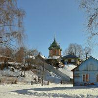 Зима. Вид на Владимирский храм., Нерехта