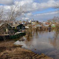 Весенний паводок на р.Нерехте в г.Нерехта 19 - 22 апреля 2013 года..., Нерехта