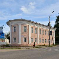 Дом купца Хворинова («дом-носок») 18 в. ул. Ленина,1.  Был местом остановки императора Павла Первого  в июне 1798 года в дни посещения г. Нерехты., Нерехта
