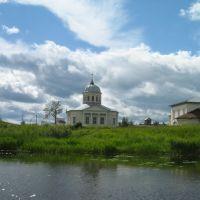 Вид на церковь, Солигалич