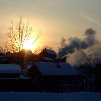 Вечер. Зима. Winter evening, Солигалич