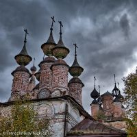 Солигалич. Воскресенский монастырь. Купола / Soligalich. Convent of the Resurrection. Domes, Солигалич