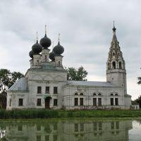 Воскресенская церковь села Молвитина (Сусанино)., Сусанино