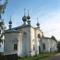 Покровская единоверческая церковь села Молвитина (Сусанино)., Сусанино