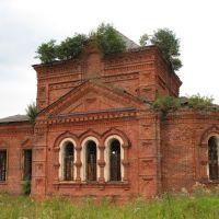 Троицкая церковь села Молвитина (Сусанино)., Сусанино