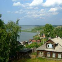 Чухлома, вид с городского вала. Chukhloma, view from the town rampart., Чухлома