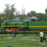 Locomotive P-36, Шарья