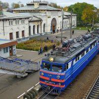 ЖД вокзал, Шарья